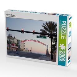 CALVENDO Puzzle Daytona Beach 2000 Teile Lege-Größe 90 x 67 cm Foto-Puzzle Bild von Klaus Feske