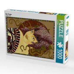 CALVENDO Puzzle Der Flieder 1000 Teile Lege-Größe 48 x 64 cm Foto-Puzzle Bild von Irene Repp von Repp,  Irene