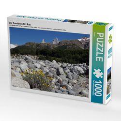 CALVENDO Puzzle Der Granitberg Fitz Roy 1000 Teile Lege-Größe 64 x 48 cm Foto-Puzzle Bild von Flori0