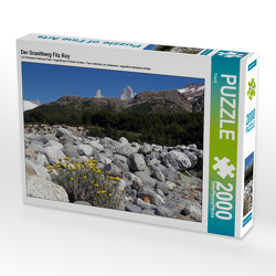 CALVENDO Puzzle Der Granitberg Fitz Roy 2000 Teile Lege-Größe 90 x 67 cm Foto-Puzzle Bild von Flori0