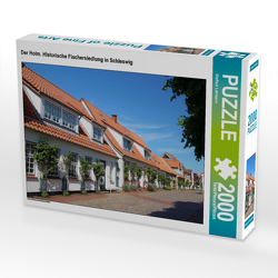 CALVENDO Puzzle Der Holm. Historische Fischersiedlung in Schleswig 2000 Teile Lege-Größe 90 x 67 cm Foto-Puzzle Bild von Steffani Lehmann