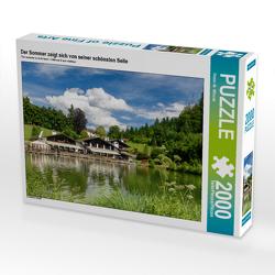 CALVENDO Puzzle Der Sommer zeigt sich von seiner schönsten Seite 2000 Teile Lege-Größe 90 x 67 cm Foto-Puzzle Bild von Dieter-M. Wilczek