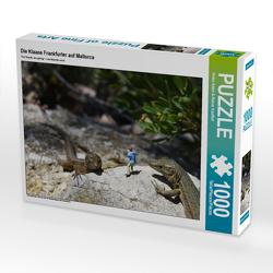 CALVENDO Puzzle Die Klaane Frankfurter auf Mallorca 1000 Teile Lege-Größe 64 x 48 cm Foto-Puzzle Bild von Heike Adam & Rainer Kauffelt