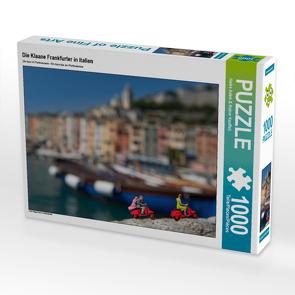 CALVENDO Puzzle Die Klaane Frankfurter in Italien 1000 Teile Lege-Größe 64 x 48 cm Foto-Puzzle Bild von Heike Adam & Rainer Kauffelt