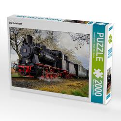 CALVENDO Puzzle Die Osterbahn 2000 Teile Lege-Größe 90 x 67 cm Foto-Puzzle Bild von Steffen Gierok