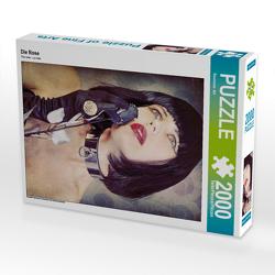 CALVENDO Puzzle Die Rose 2000 Teile Lege-Größe 67 x 90 cm Foto-Puzzle Bild von Ravienne Art