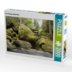 CALVENDO Puzzle Die Triberger Wasserfälle 2000 Teile Lege-Größe 90 x 67 cm Foto-Puzzle Bild von Flori0