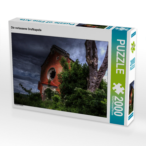 CALVENDO Puzzle Die verlassene Gruftkapelle 2000 Teile Lege-Größe 90 x 67 cm Foto-Puzzle Bild von N N