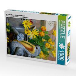 CALVENDO Puzzle Du bist silbern, bist du ein Fisch? 1000 Teile Lege-Größe 48 x 64 cm Foto-Puzzle Bild von Heinz Schmidbauer von Schmidbauer,  Heinz