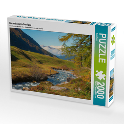 CALVENDO Puzzle Ducanbach im Sertigtal 2000 Teile Lege-Größe 90 x 67 cm Foto-Puzzle Bild von SusaZoom