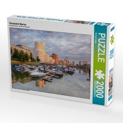 CALVENDO Puzzle Düsseldorf Marina 2000 Teile Lege-Größe 90 x 67 cm Foto-Puzzle Bild von Michael Valjak