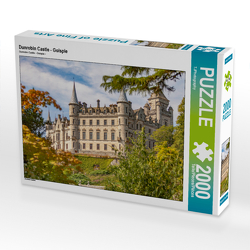 CALVENDO Puzzle Dunrobin Castle – Golspie 2000 Teile Lege-Größe 90 x 67 cm Foto-Puzzle Bild von TJPhotography