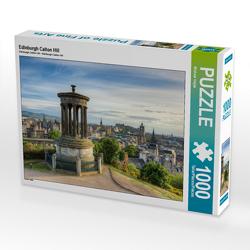 CALVENDO Puzzle Edinburgh Calton Hill 1000 Teile Lege-Größe 64 x 48 cm Foto-Puzzle Bild von Michael Valjak