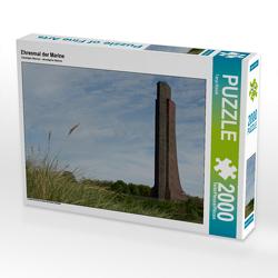 CALVENDO Puzzle Ehrenmal der Marine 2000 Teile Lege-Größe 90 x 67 cm Foto-Puzzle Bild von Tanja Riedel