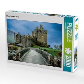CALVENDO Puzzle Eilean Donan Castle 2000 Teile Lege-Größe 90 x 67 cm Foto-Puzzle Bild von Holger John