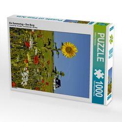 CALVENDO Puzzle Ein Sommertag – Den Burg 1000 Teile Lege-Größe 48 x 64 cm Foto-Puzzle Bild von Bettina Hackstein von Hackstein,  Bettina