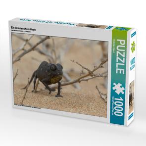CALVENDO Puzzle Ein Wüstenchamäleon 1000 Teile Lege-Größe 64 x 48 cm Foto-Puzzle Bild von Christian Alpert