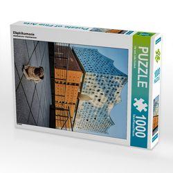 CALVENDO Puzzle Elbphilharmonie 1000 Teile Lege-Größe 48 x 64 cm Foto-Puzzle Bild von Ole und Julia Dodeck von und Julia Dodeck,  Ole