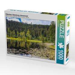 CALVENDO Puzzle Ellbachsee, Baiersbronn, Schwarzwald 1000 Teile Lege-Größe 64 x 48 cm Foto-Puzzle Bild von Jürgen Feuerer