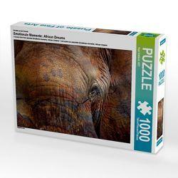 CALVENDO Puzzle Emotionale Momente: African Dreams 1000 Teile Lege-Größe 64 x 48 cm Foto-Puzzle Bild von Ingo Gerlach GDT von Gerlach GDT,  Ingo