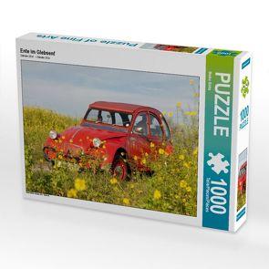 CALVENDO Puzzle Ente im Glebsenf 1000 Teile Lege-Größe 64 x 48 cm Foto-Puzzle Bild von Meike Bölts