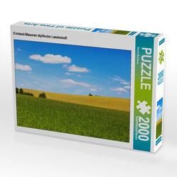 CALVENDO Puzzle Ermland-Masuren Idyllische Landschaft 2000 Teile Lege-Größe 90 x 67 cm Foto-Puzzle Bild von Bernd Maertens