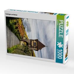 CALVENDO Puzzle Esslingen am Neckar 1000 Teile Lege-Größe 48 x 64 cm Foto-Puzzle Bild von Horst Eisele