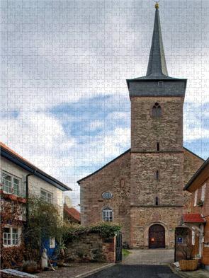 CALVENDO Puzzle Evangelische Stadtkirche St. Michael 2000 Teile Lege-Größe 67 x 90 cm Foto-Puzzle Bild von E. Ehmke