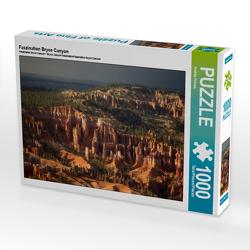CALVENDO Puzzle Faszination Bryce Canyon 1000 Teile Lege-Größe 64 x 48 cm Foto-Puzzle Bild von Andrea Potratz
