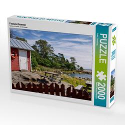 CALVENDO Puzzle Finnland Sommer 2000 Teile Lege-Größe 90 x 67 cm Foto-Puzzle Bild von Anke Thoschlag