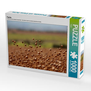 CALVENDO Puzzle Flachs 1000 Teile Lege-Größe 64 x 48 cm Foto-Puzzle Bild von Flori0