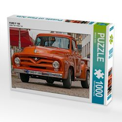 CALVENDO Puzzle FORD F 100 1000 Teile Lege-Größe 64 x 48 cm Foto-Puzzle Bild von Michael Jaster von Jaster,  Michael