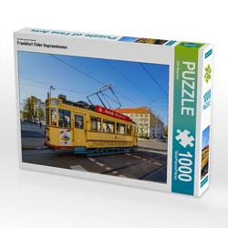CALVENDO Puzzle Frankfurt Oder Impressionen 1000 Teile Lege-Größe 64 x 48 cm Foto-Puzzle Bild von Dirk Meutzner