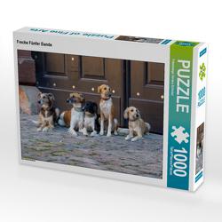 CALVENDO Puzzle Freche Fünfer Bande 1000 Teile Lege-Größe 64 x 48 cm Foto-Puzzle Bild von Fotodesign Verena Scholze
