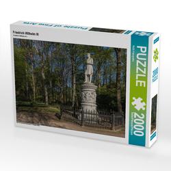 CALVENDO Puzzle Friedrich Wilhelm III 2000 Teile Lege-Größe 90 x 67 cm Foto-Puzzle Bild von ReDi Fotografie