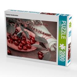 CALVENDO Puzzle Frische Herzkirschen 2000 Teile Lege-Größe 90 x 67 cm Foto-Puzzle Bild von Tanja Riedel