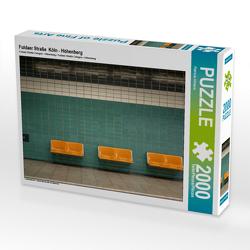 CALVENDO Puzzle Fuldaer Straße Köln – Höhenberg 2000 Teile Lege-Größe 90 x 67 cm Foto-Puzzle Bild von Patricia Ahrens