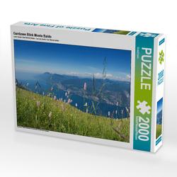 CALVENDO Puzzle Gardasee Blick Monte Baldo 2000 Teile Lege-Größe 90 x 67 cm Foto-Puzzle Bild von SusaZoom