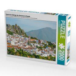 CALVENDO Puzzle Gaucín im Gebirge der Serranía de Ronda 2000 Teile Lege-Größe 90 x 67 cm Foto-Puzzle Bild von Jürgen Feuerer