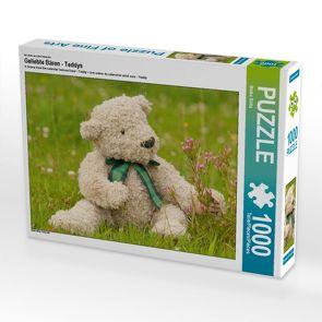 CALVENDO Puzzle Geliebte Bären – Teddys 1000 Teile Lege-Größe 64 x 48 cm Foto-Puzzle Bild von Meike Bölts