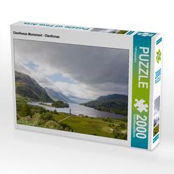 CALVENDO Puzzle Glenfinnan Monument – Glenfinnan 2000 Teile Lege-Größe 90 x 67 cm Foto-Puzzle Bild von TJPhotography