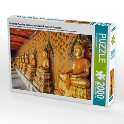 CALVENDO Puzzle Goldene Buddha-Statuen im Grand Palace in Bangkok 2000 Teile Lege-Größe 90 x 67 cm Foto-Puzzle Bild von Christian Müringer