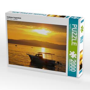 CALVENDO Puzzle Goldener Augenblick 2000 Teile Lege-Größe 90 x 67 cm Foto-Puzzle Bild von EigenArt