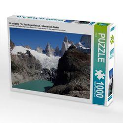 CALVENDO Puzzle Granitberg Fitz Roy/Argentinisch-chilenische Anden 1000 Teile Lege-Größe 64 x 48 cm Foto-Puzzle Bild von Flori0