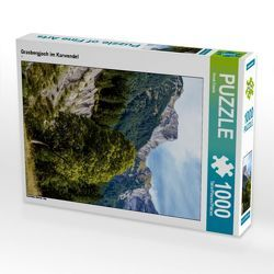 CALVENDO Puzzle Grasbergjoch im Karwendel 1000 Teile Lege-Größe 48 x 64 cm Foto-Puzzle Bild von Horst Eisele von Eisele,  Horst