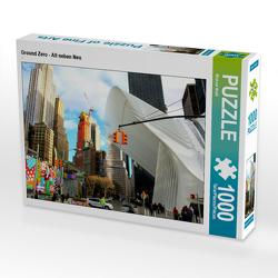 CALVENDO Puzzle Ground Zero – Alt neben Neu 1000 Teile Lege-Größe 64 x 48 cm Foto-Puzzle Bild von Michael Weiß