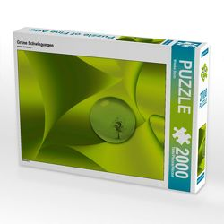 CALVENDO Puzzle Grüne Schwingungen 2000 Teile Lege-Größe 90 x 67 cm Foto-Puzzle Bild von Wiebke Storm