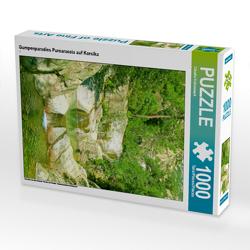CALVENDO Puzzle Gumpenparadies Purcaraccia auf Korsika 1000 Teile Lege-Größe 48 x 64 cm Foto-Puzzle Bild von Claudia Schimmack