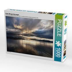 CALVENDO Puzzle Guten Morgen Norwegen 1000 Teile Lege-Größe 64 x 48 cm Foto-Puzzle Bild von Christiane Calmbacher