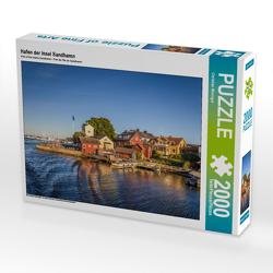 CALVENDO Puzzle Hafen der Insel Sandhamn 2000 Teile Lege-Größe 90 x 67 cm Foto-Puzzle Bild von Christian Müringer